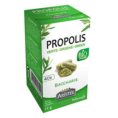 Aristee Propolis Green de Baccharis 40 Cap. 1 unité de 300 g.
