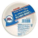 日本デキシー エコノウェア ボウル13cm 20P ホワイト (260ml) KFB205EW