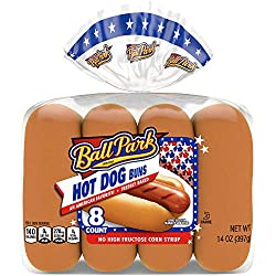 Ball Park Hot Dog Buns, 8 count, 13 oz