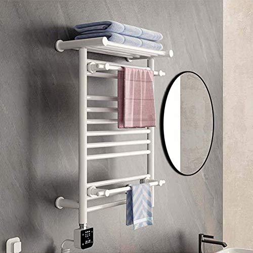 LHQ-QG Serviette électrique chaud, Plug-in inox poli Câblé chauffants Porte-serviettes for salle de bain mural 250W