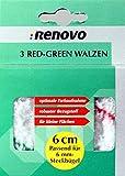3 red - Green-rodillo Polya. 6 cm