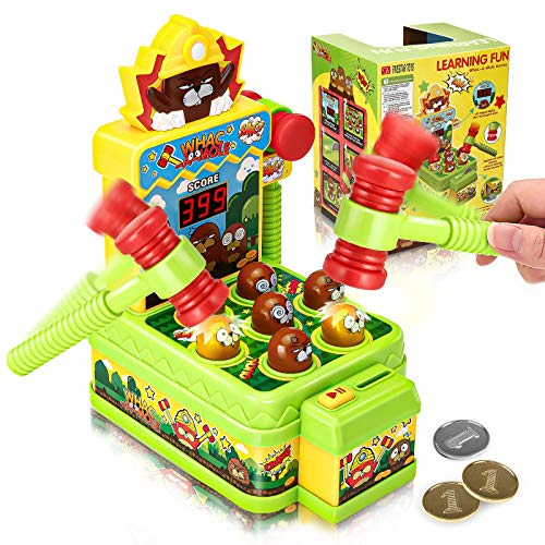 Godmorn Whac-A-Mole Game, Mini E...