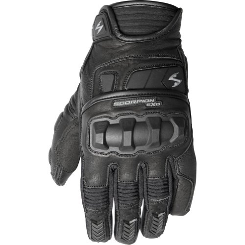 Scorpion Klaw II Men's Leather Street Motorcycle Gloves - Black/X-Large