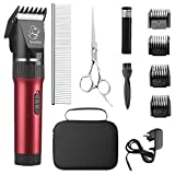 Best Dog Clippers - Sminiker Low Noise Cat and Dog Clippers Rechargeable Review