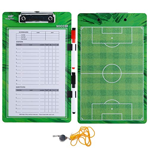 Soccer Coaches Dry Erase Clipboard