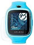 Bruni Schutzfolie kompatibel mit XPlora 3S Folie, glasklare Bildschirmschutzfolie (2X)