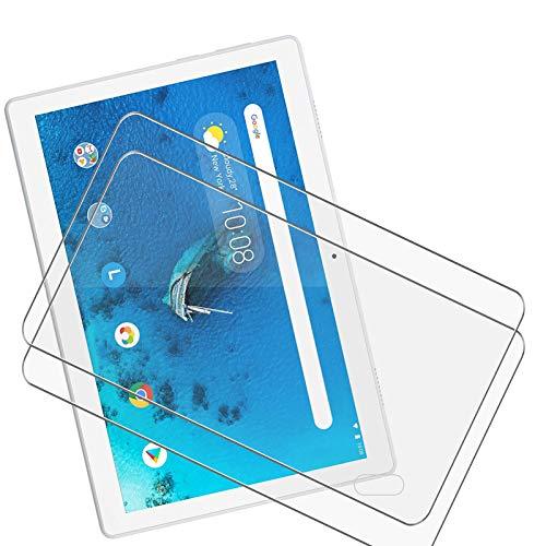 JIENI Protector de pantalla de cristal templado transparente para Samsung Galaxy Tab A7 2020 (10,4 pulgadas), 2 unidades, dureza 9H, muy duradero, antiarañazos, cristal templado ultra transparente