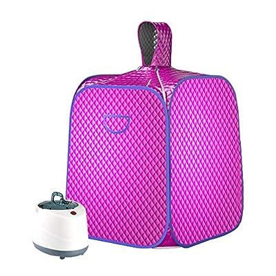 SEAAN Portable Sauna Tent Personal Sauna Home Steam Sauna for Weight Loss/Detox/Slimming