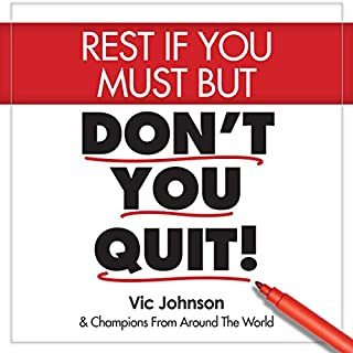 Rest If You Must, but Don't You Quit cover art