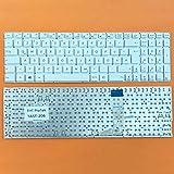kompatibel für ASUS R753UX, R753U DEUTSCHE - Weiß Tastatur Keyboard ohne Rahmen