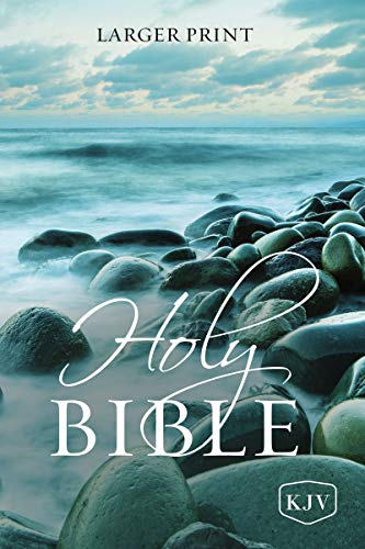 KJV, Holy Bible, Larger Print, Paperback, Comfort Print: Holy Bible, King James Version