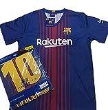 Camiseta 1ª Equipación Replica Oficial FC BARCELONA 2017-2018 Dorsal MESSI - Tallaje ADULTO (XXL)