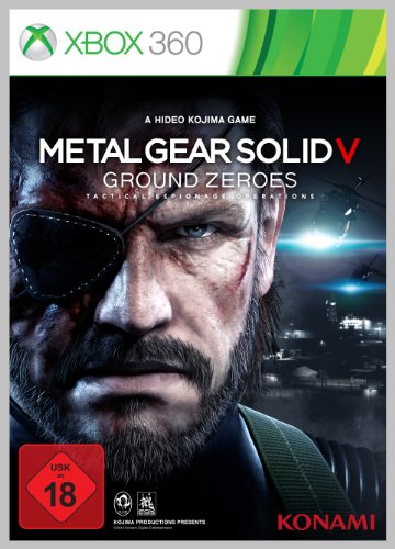 Metal Gear Solid 5 - Ground Zeroes - [Xbox 360]