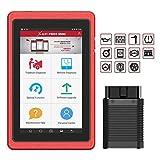 LAUNCH PROS Mini Herramienta de Diagnóstico Multimarca Profesional Portátil Wifi Bluetooth Rojo Español 2 Años de Actualizaciones Incluidas [ Nueva Versión 3.0 ]