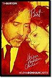 Tim Burton und Helena Bonham Carter Kunstdruck (mit