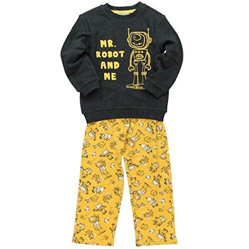 boboli Baby-Jungen Schlafanzüge  Pijama Interlock , schwarz (carbon vigore), größe 5 Jahre