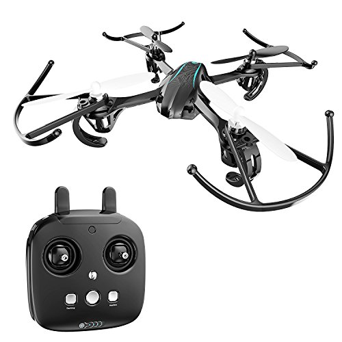 Holy Stone HS170G Night Elven Mini RC Quadcopter Drone with Altitude Hold Function, Headless Mode, 3D Flips, One Key Engine...