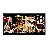 WIOIW Künstler Pablo Picasso Berühmte Kunstwerke Guernica