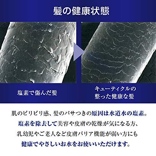 タカギ(Takagi)浄水シャワーキモチイイ浄水シャワピタ手元STOP工具不要取り付けかんたんJSB222【安心の2年間保証】
