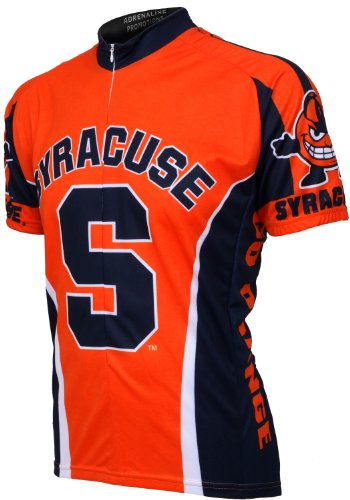 NCAA Syracuse Cycling Jersey,X-Large