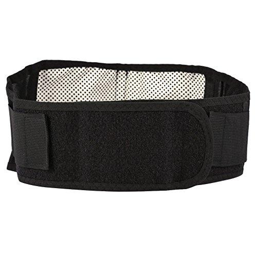 Ceinture de soutien lombaire, ceinture auto-chauffante en matériau noir de haute qualité, coussin auto-chauffant à haute élasticité Relax