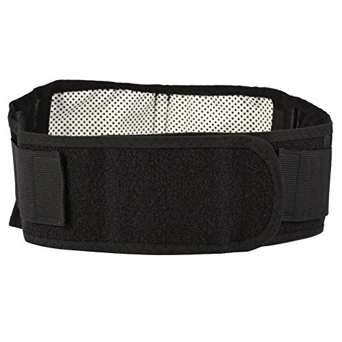 Cinturón de soporte de cintura, material de alta calidad, almohadilla de calentamiento automático, cinturón de soporte lumbar de alta elasticidad, oficina para el hogar