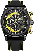 Megir mens quartz watch, chronograph display and silicone strap - 2051g