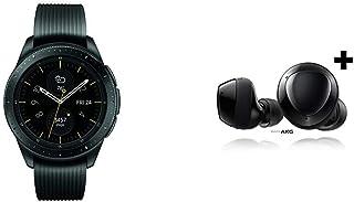 Samsung Galaxy Watch smartwatch (42mm, GPS, Bluetooth) – Midnight Black & Samsung Galaxy Buds+ Plus, True Wireless Earbuds w/Improved Battery and Call Quality, Black – US Version, SM-R175NZKAXAR
