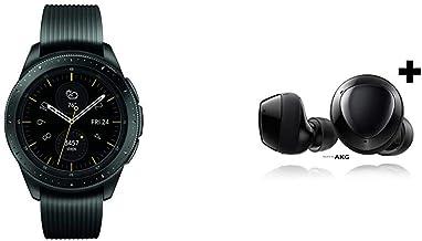 Samsung Galaxy Watch smartwatch (42mm, GPS, Bluetooth) – Midnight Black & Samsung Galaxy Buds+ Plus, True Wireless Earbuds...
