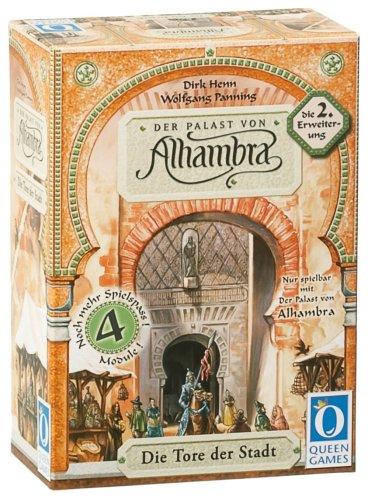 Queen Games 6031 - Der Palast von Alhambra - 2. Erweiterung: Die Tore der Stadt