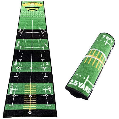 Golf Putting Green Mat, 0.5 * 3M Indoor Outdoor Simulation Grass Practice Mat  indoor putting greens