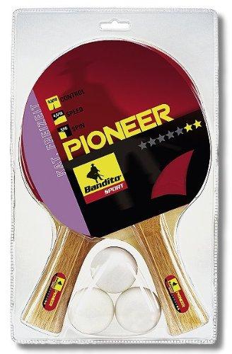 Bandito Schläger-Set Pioneer ** Star, mit 2 hochwertigen Schlägern Pioneer und 3 Qualitätsbällen **,