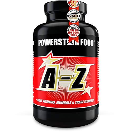 A-Z Langzeit-Vitamine | 180 Tabletten | HOCHDOSIERT | Multivitamin Komplex Komplettversorgung + wichtige Mineralstoffe & Spurenelemente | Geprüfte Pharmaqualität | Deutsche Herstellung nach IFS
