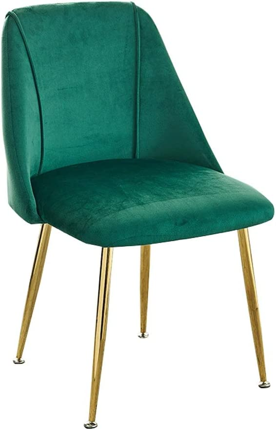 ADGEAAB Modern Sales of SALE items from new works Jacksonville Mall Velvet Dining Chair Metal Legs with a Seat