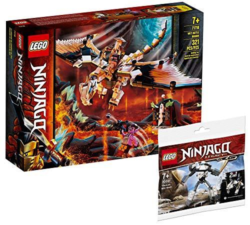 Collectix Lego Ninjago 71718 WUS Dragón peligroso + Ninjago