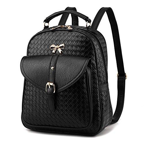 Damen PU Lederrucksack Luxus PU Leder Rucksack Cityrucksack Stadtrucksack Mode Damen Tasche Daypack für Mädchen