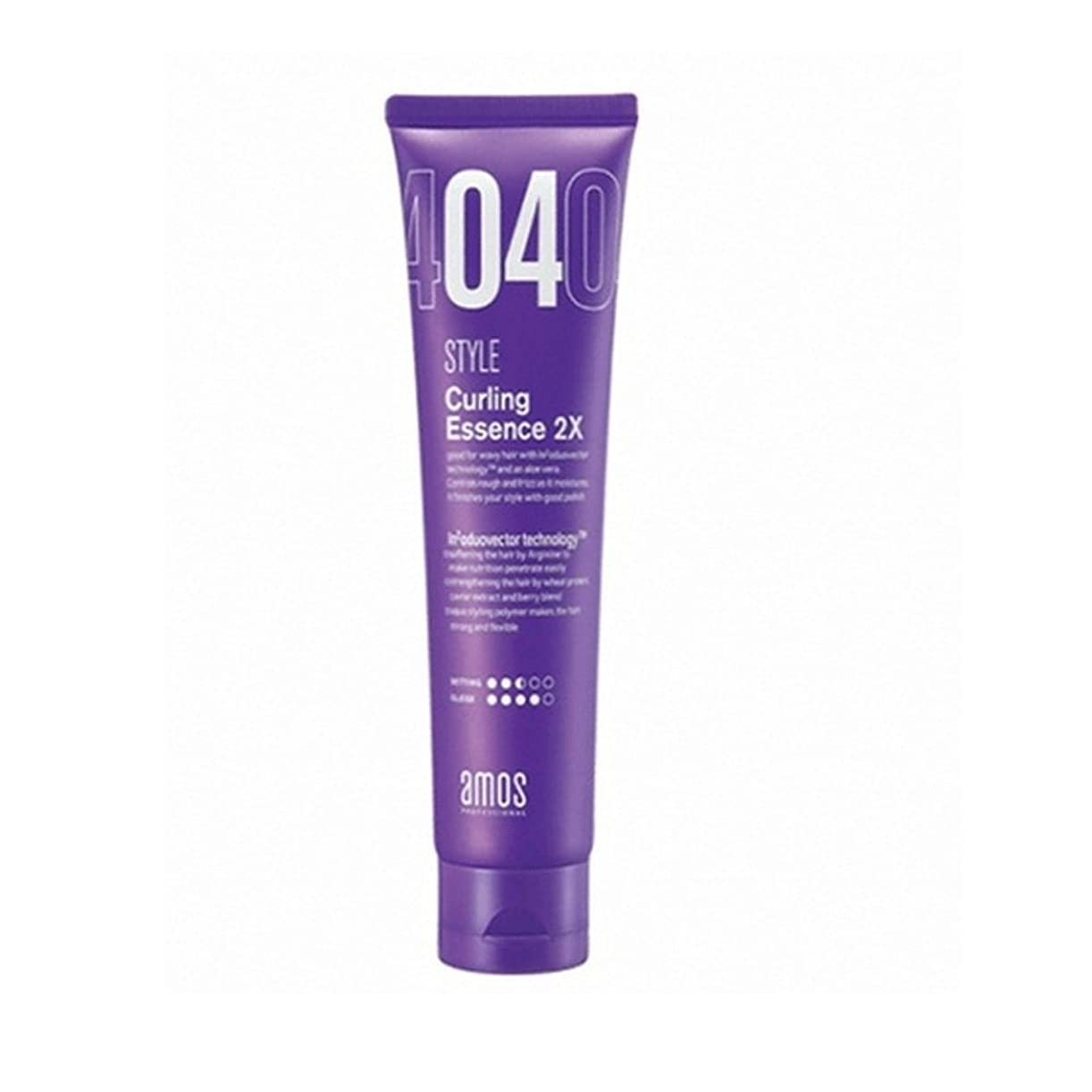 貴重な熱帯のロッドAmos Hair Curling Essence 150g カーリング ヘア美容液 [並行輸入品]