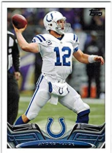 2013 Topps Indianapolis Colts Team Set with Andrew Luck & Reggie Wayne - 13 NFL Cards