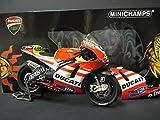 Minichamps Ducati Desmosedici GP11Showbike 2011–Valentino Rossi 1/12scale Die-cast Collectors Motorbike Model