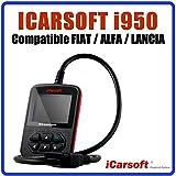 Interface de Diagnostic iCarsoft i950 Compatible avec véhicules Fiat - Alfa ROMÉO et Lancia - Diagnostic Tous Systèmes