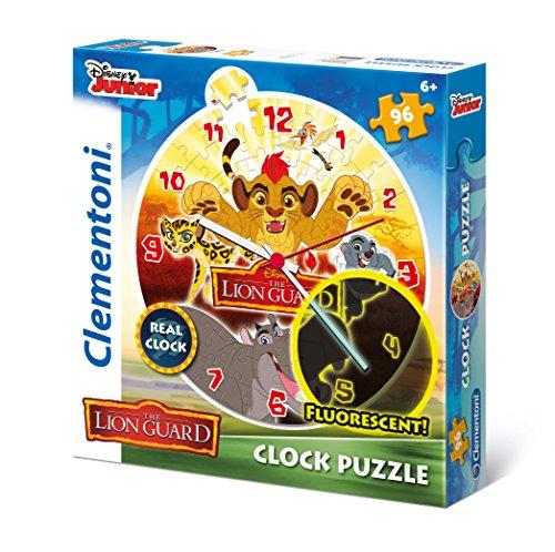 Clementoni - Puzzle 96 Piezas Clock Lion Guard (23027)