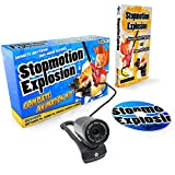 Stopmotion Explosion: Complete HD Stop Motion Animation Kit | Stop Motion Animation Software with Full HD 1080P Camera, Animation Software & Book (Windows & OS X)