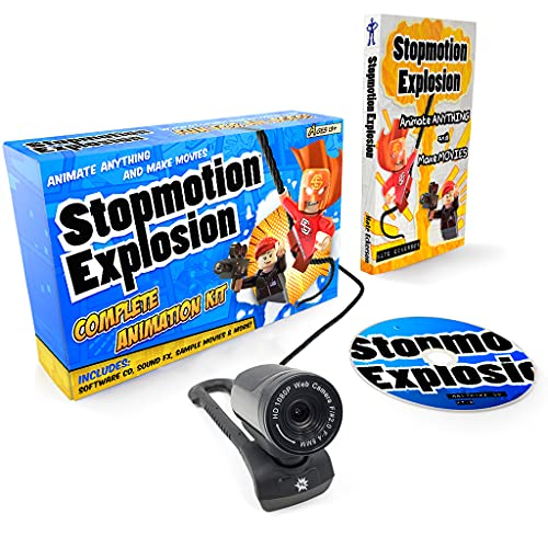 Stopmotion Explosion: Complete HD Stop Motion Animation Kit | Stop...