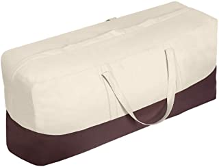 Vailge Patio Cushion/Cover Storage Bag Waterproof Outdoor Patio Furniture Seat Rectanglar Cushions Storage Bag , Zippered ...