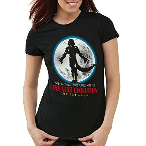 style3 Freezer - The Next Evolution T-Shirt Femme, Couleur:Noir, Taille:S