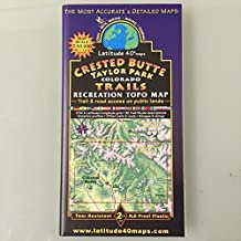 Crested Butte - Taylor Park Recreation Topo Map