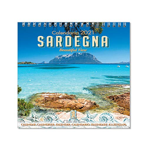 Calendario da tavolo Sardegna 2021 f.to 11 x 11 cm (mod.02)