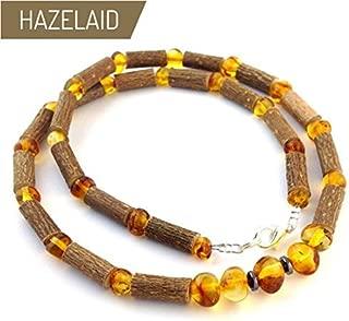 11 Multicolored TM Child Hazelwood-Amber Necklace Hazelaid