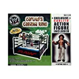 WWE Carlito's Cababa Ring Wrestling Ring Includes Carlito Figure by Jakks Pacific...