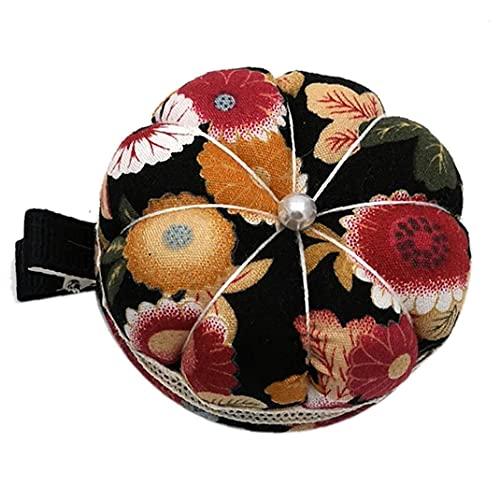 Pin Cushion Cojín De Calabaza Forma Pines Cojines Titular Pulsera Agujas De Pinchion para Accesorios De Costura